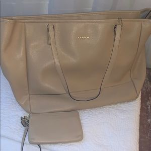 COACH East/West - large work tote - Authentic